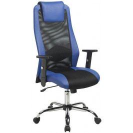 Antares Kancelářská židle Sander Modro-černá