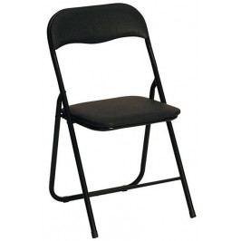 Halmar Skládací židle K5 - černá