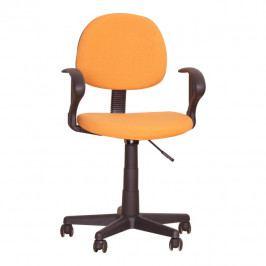 Tempo Kondela Kancelářská židle TC3-227 - oranžová