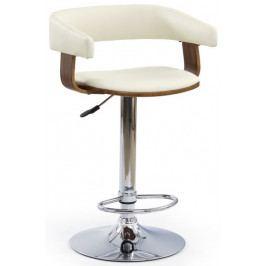 Halmar Barová židle H-12 Ořech/béžová