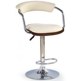 Halmar Barová židle H-19 Antická třešeň/béžová