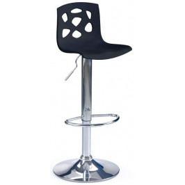 Halmar Barová židle H-48 Černá