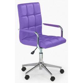 Halmar Dětská židle Gonzo 2 Fialová