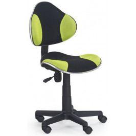 Halmar Dětská židle Flash Zeleno-černá