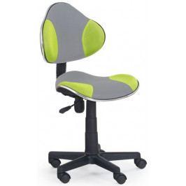 Halmar Dětská židle Flash 2 Zeleno-šedá