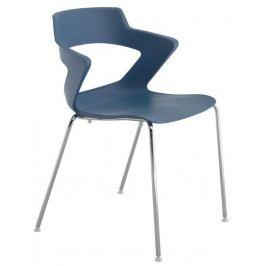 Antares Konferenční židle 2160 PC Aoki - nečalouněná Béžová RAL 1019