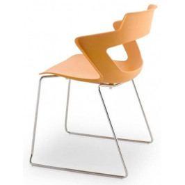 Antares Konferenční židle 2160/S PC Aoki - nečalouněná Černá RAL 9017