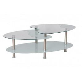 Falco Konferenční stolek BA-5-Oval bílý