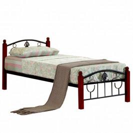Tempo Kondela Kovová postel MAGENTA - 90x200