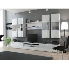 Cama Obývací stěna DREAM I - bílá/bílá