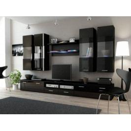 Cama Obývací stěna DREAM I - černá/černá