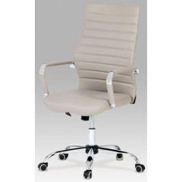 Autronic Kancelářská židle KA-Z615 BLUE - koženka modrá