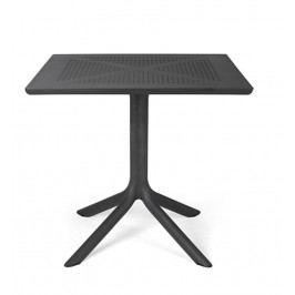 Stima Stůl Clip Polypropylen antracite - černá