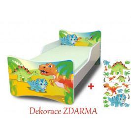 Forclaire Dětská postel Dino postel bez úložného prostoru160x70cm