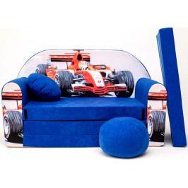 Forclaire Dětská pohovka Formule Modrá 2008