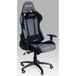 Autronic Kancelářská židle KA-F01 GREY - šedá