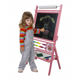 Forclaire Dětská magnetická tabule růžová