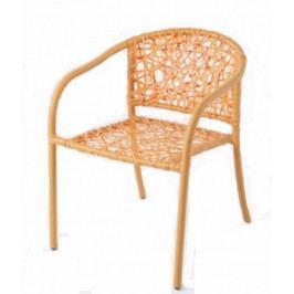 Dimenza Zahradní židle NEST - oranžová