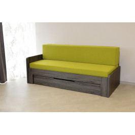 Ahorn Rozkládací postel Duovita s laťkovým roštem bez zásuvky a matrací, bez područek