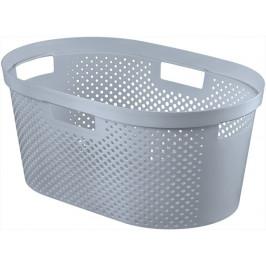 Curver Koš na čisté prádlo INFINITY DOTS 39L - šedý