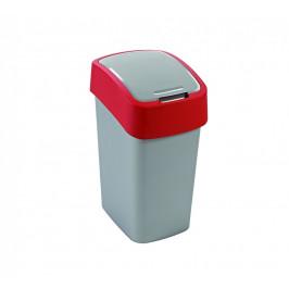 Curver Odpadkový koš FLIPBIN 10L - červený