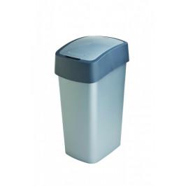 Curver Odpadkový koš FLIPBIN 50L - šedý