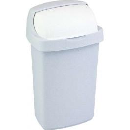 Curver Odpadkový koš ROLL TOP 10L - sv. šedý