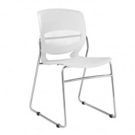 Tempo Kondela Konferenční židle IMENA - bílá