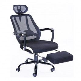 Tempo Kondela Kancelářská židle SIDRO - černá síťka / černá