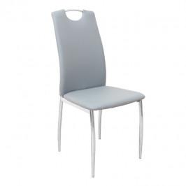 Tempo Kondela Židle ERVINA - šedá ekokůže