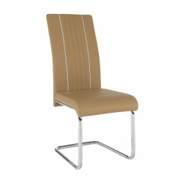 Tempo Kondela Židle LESANA - béžová / bílá