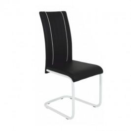 Tempo Kondela Židle LESANA - černá / bílá