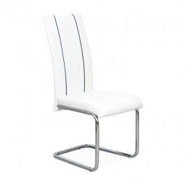 Tempo Kondela Židle LESANA - bílá / černá