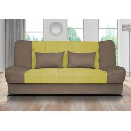 Falco Pohovka Sun - žluto-zelená/hnědá