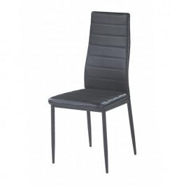 Tempo Kondela Židle COLETA NOVA - černá ekokůže