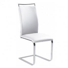 Tempo Kondela Jídelní židle BARNA NEW - bílá ekokůže