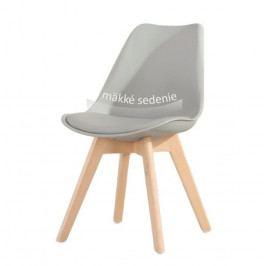 Tempo Kondela Židle BALI - šedá