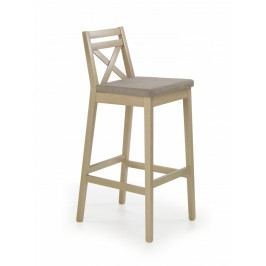 Halmar Barová židle Borys bílá/Inary 23