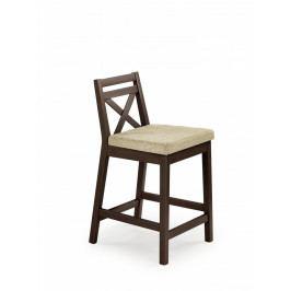 Halmar Jídelní židle Borys Low bílá/Inary 23