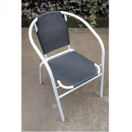 Tempo Kondela Židle LESTRA - tmavě šedá / šedá