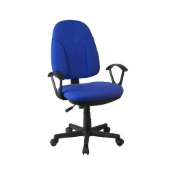 Tempo Kondela Kancelářská židle DEVRI - modrá látka
