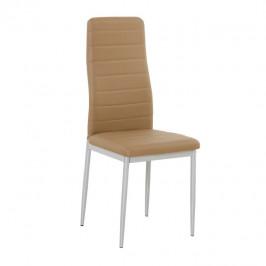 Tempo Kondela Židle COLETA - ekokůže karamel