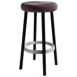 Rojaplast Barová stolička COZY BAR stool - fialová