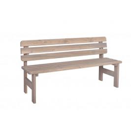 Rojaplast Zahradní lavice VIKING ŠEDÁ - 150 cm