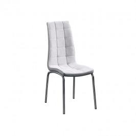 Tempo Kondela Jídelní židle GERDA - šedá / chrom
