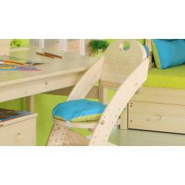 Domestav Sedák na dětskou židli Klára 1 tyrkysovo-zelený