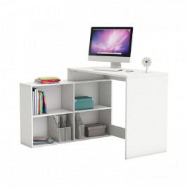 Idea Rohový psací stůl CORNER bílý