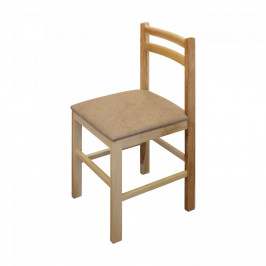 Idea Jídelní židle MIRA buk/světle hnědá