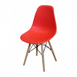 Idea Jídelní židle UNO červená