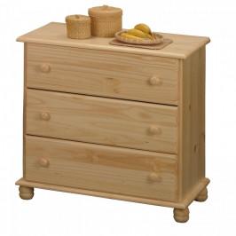 Idea Prádelník 3 zásuvky 8013
